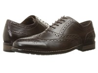 Nunn Bush Tj Wingtip Oxford Brown Men's Lace Up Wing Tip Shoes