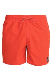 Adidas Performance Solid Swimming Shorts Energy Red