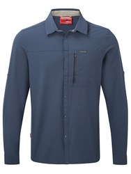 Craghoppers Nosilife Pro Long Sleeved Shirt Blue