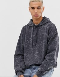 Cheap Monday Washed Hoodie Black