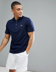 Lacoste Sport Polo Shirt In Navy 166