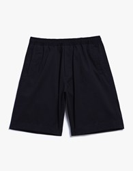 Our Legacy Relaxed Shorts Navy Light Gaberdine