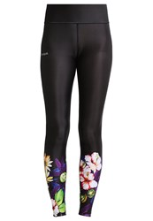 Desigual Tights Garden Gold