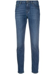 Mr And Mrs Italy Skinny Jeans Blue