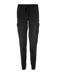 Joe's Jeans Drawstring Joggers Jet Black