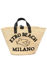 Etro Embroidered Beach Tote Bag 60