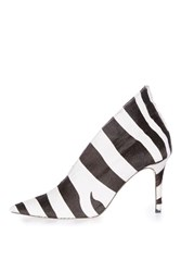 Topshop Pointed Zebra Heels By Unique Multi