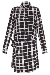 Kenzo Kilt Shirt Dress