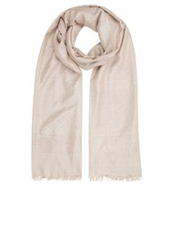 Accessorize All Over Metallic Stole Mink