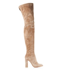 Gianvito Rossi Rolling High Cuissard Over The Knee Boots