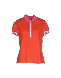 Fay Topwear Polo Shirts Women Red