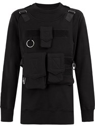 Matthew Miller Ultility Pocket Jumper Black