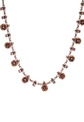 Konplott Burlesque Necklace Pink Antique Copper