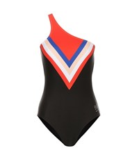 P.E Nation Triple Play Swimsuit Black