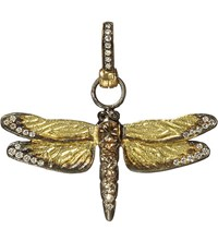 Annoushka Dragonfly 18Ct Yellow Gold And Diamond Pendant