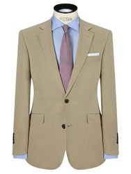 John Lewis Silk And Linen Suit Jacket Stone