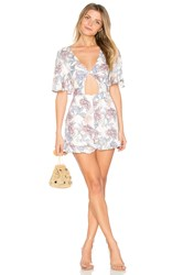 Minkpink Mysterious Playsuit White