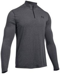 Under Armour Men's Threadborne Performance Quarter Zip Pullover Carbon Heather