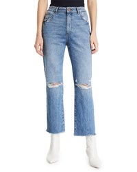 Dl1961 Jerry High Rise Vintage Straight Ankle Jeans Veracruz