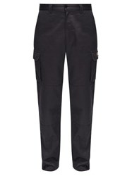 Vetements Police Cargo Trousers Navy