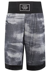 Reebok Combat Prime Sports Shorts Skull Grey
