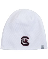 Under Armour Women's South Carolina Gamecocks Diamond Tough Beanie White