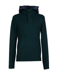 Woolrich Knitwear Turtlenecks Men Dark Green