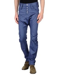 Humor Casual Pants Slate Blue