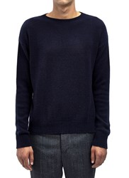 Marni Mens Long Sleeved Crew N Black