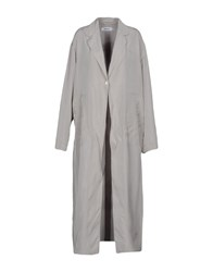 Marios Overcoats Grey