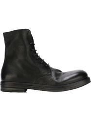 Marsell Marsell Lace Up Boots Black