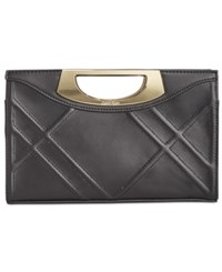 Calvin Klein Bombay Quilted Clutch Black Bombay