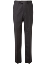 Austin Reed Herringbone Classic Fit Suit Trousers Charcoal