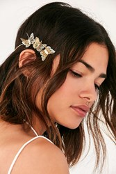 Urban Outfitters Butterfly Halo Headband Gold