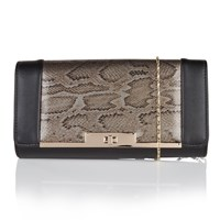 Lotus Kamelei Matching Clutch Bag Black