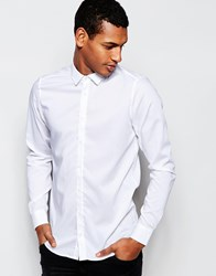 Vito Shirt In Slim Fit White