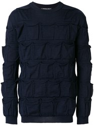Y Project All Over Pockets Jumper Blue