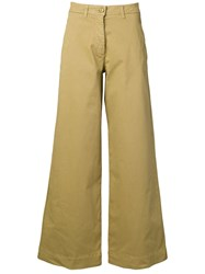 Essentiel Antwerp Flared Trousers Neutrals