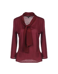 Brooks Brothers T Shirts Garnet
