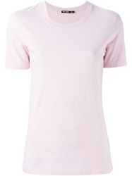 Blk Dnm Round Neck T Shirt Pink And Purple