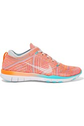 Nike Free Tr 5 Flyknit Sneakers Coral