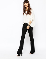 Just Female Heroic Flared Jeans Black