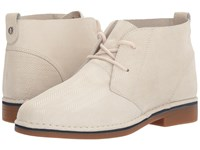 Hush Puppies Cyra Catelyn Ivory Herringbone Suede Women's Lace Up Boots Beige
