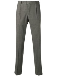 Incotex Classic Tailored Trousers Grey