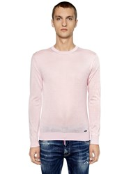 Dsquared Cashmere Knit Sweater Pink