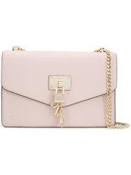 Dkny Padlock Detail Crossbody Bag Pink