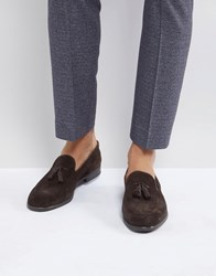 Hudson H By Dickson Suede Loafers Brown
