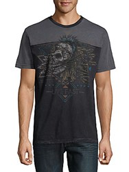 Affliction Graphic Cotton Tee Black