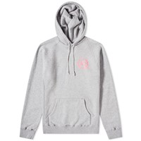 Denim By Vanquish And Fragment Logo Popover Hoody Grey