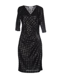Joseph Ribkoff Knee Length Dresses Black